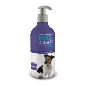 402 FOX CLEAN CONDICIONADOR RESTAURACAO DE PELOS 500ML